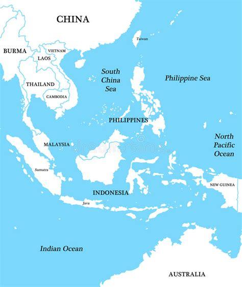 map  indonesia stock illustration illustration
