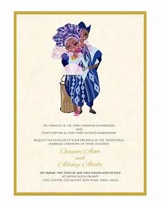 nigerian traditional wedding invitation card yoruba With example of traditional wedding invitation card