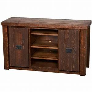 casegoods barnwood 52 tv stand bw52 With barnwood tv cabinet