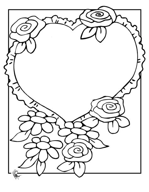 Wedding Flowers Coloring Pages Wedding Flowers Coloring Pages To