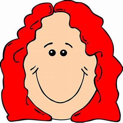 Female Hair Face Woman Pixabay Ginger Vector