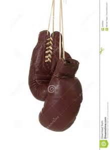 Vintage Boxing Gloves Illustration
