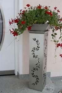 Dekosäule Mit Schale : pflanzens ule aus metall designer pflanzens ule aus metall dekos ule aus metall blumens ule ~ Sanjose-hotels-ca.com Haus und Dekorationen