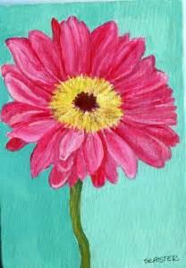 Flowers Acrylic Painting Ideas