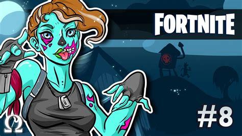 zombie girl hungers  brains  kills fortnite