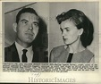 1965 Press Photo Marina Oswald Porter and her husband ...