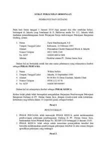 Surat Perintah Kerja Kontraktor Doc