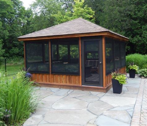 screened gazebo kits decorative pinteres