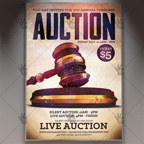 Auction Brochure Template by Auction Brochure Template Auction Brochure Template