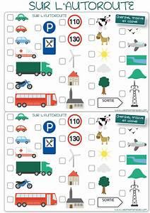 Jeux De Permi De Voiture : les occuper en voiture jeux de voyage bingo de la route imprimer allo maman dodo ~ Medecine-chirurgie-esthetiques.com Avis de Voitures