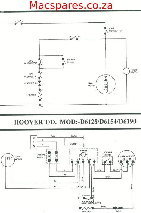 wiring diagrams tumble driers macspares wholesale