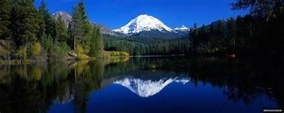 Dual Screen Landscape Nature Backgrounds Dream Lake