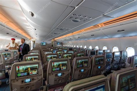 siege emirates interior of an economy class of the 39 s largest