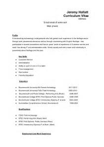 What All Do U Need On A Resume by Tips For An Archaeology Resume Cv If You Just Graduated Or