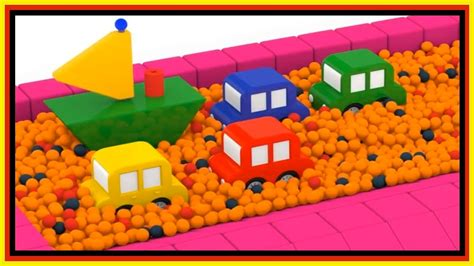 Boat Ball by Ball Pit Party Boat Construction Cartoon Cars