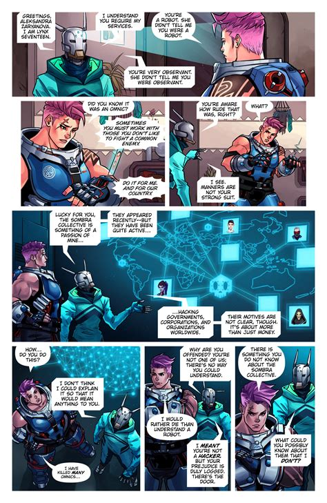 searching  newest overwatch digital comic hth gaming