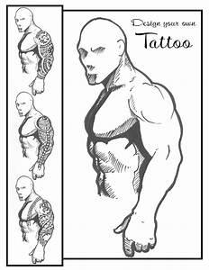 Tattoo templates beepmunk for Designing a sleeve tattoo template