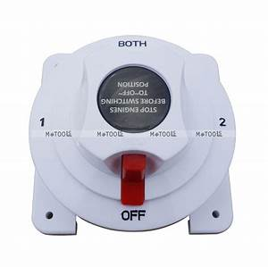 Battery Selector Switch Replaces Guest 2111a 4 Position