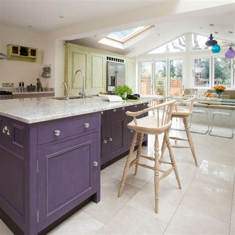 kitchen extensions ideas colourful spacious kitchen open plan kitchn ideas