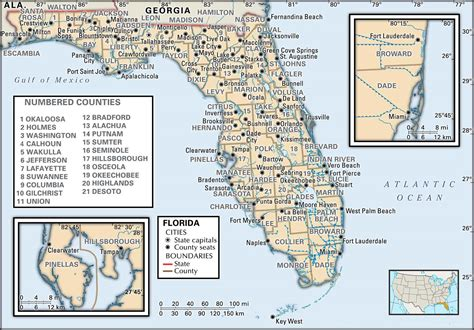 state  county maps  florida