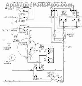Parts For Maytag Lat9304aae  Wiring Information Parts