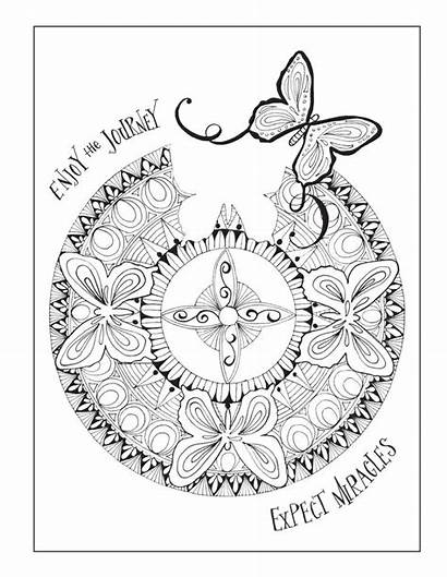 Coloring Recovery Pages Quotes Inspirational Inkspirations Books