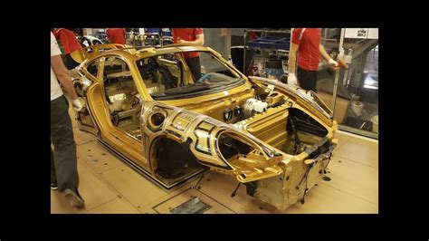 Take A Sneak Peak At The Assembly Process Of The Porsche