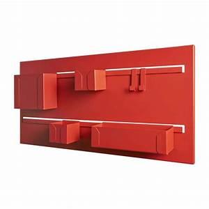 Meuble Rangement Mural : clap meuble de rangement mural habitat ~ Mglfilm.com Idées de Décoration