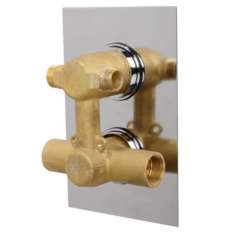Shower Valve With Diverter by Ecostyle Concealed Dual Shower Valve With Diverter