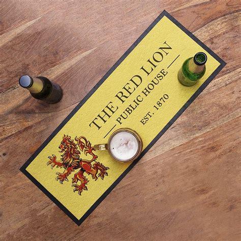 tapis de bar personnalis 233 impression sur tapis de bar