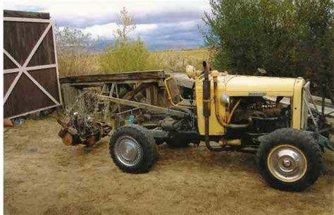 homemade tractor the doodlebug a homemade tractor tractors farm collector