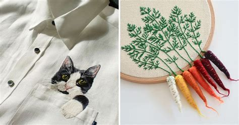 artists   embroidery    level