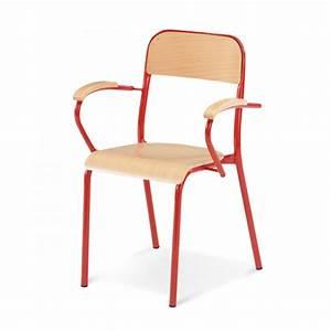 Chaise Enfant Avec Accoudoir : chaise scolaire avec accoudoires chaise scolaire axess industries ~ Teatrodelosmanantiales.com Idées de Décoration