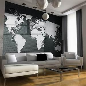 Decoration Murale Monde : 1000 id es propos de papier peint carte sur pinterest carte murale du monde plans et ~ Teatrodelosmanantiales.com Idées de Décoration