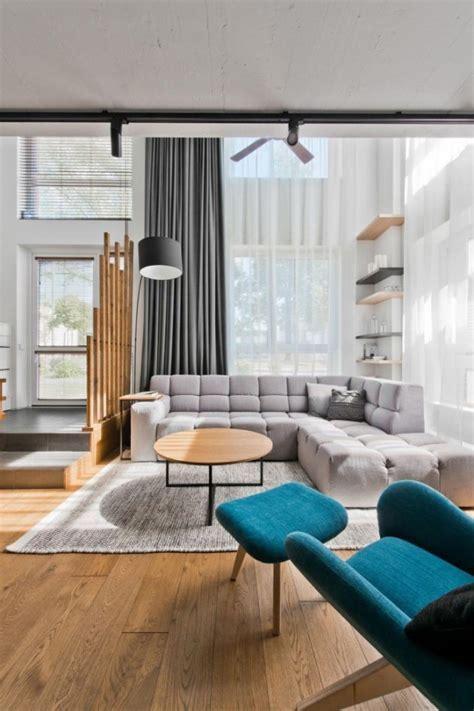 Modern Scandinavian Loft Interior by InArch in Vilnius
