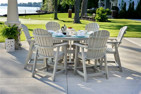 tall patio table set patio furniture counter height table sets awesome