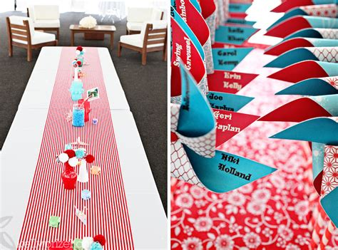 tbdress colourful and playful carnival themed wedding