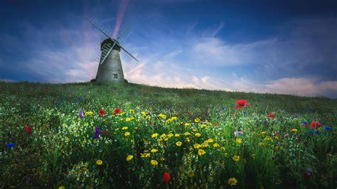 whitburn windmill  wallpapers hd wallpapers id