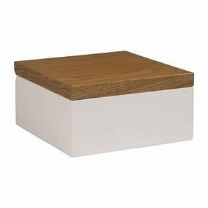 Jolie Boite De Rangement : array bo tes blanc naturel bois laqu habitat ~ Dailycaller-alerts.com Idées de Décoration
