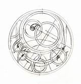 Sundial Drawing Astrolabe Tattoo Tattoos Celestial Chi Ne Ink Clock Fashioned Master Sun Coloring Sketch Inspiration Designs Sister Compass Occult sketch template
