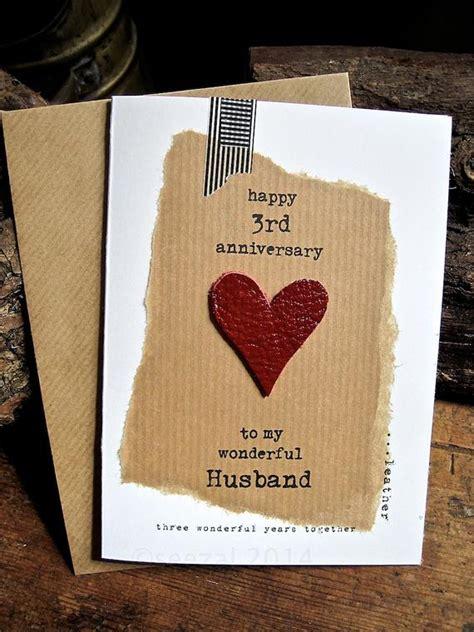 Ee  Rd Ee   Wedding  Ee  Anniversary Ee   Three Wonderful Years Leather Husband