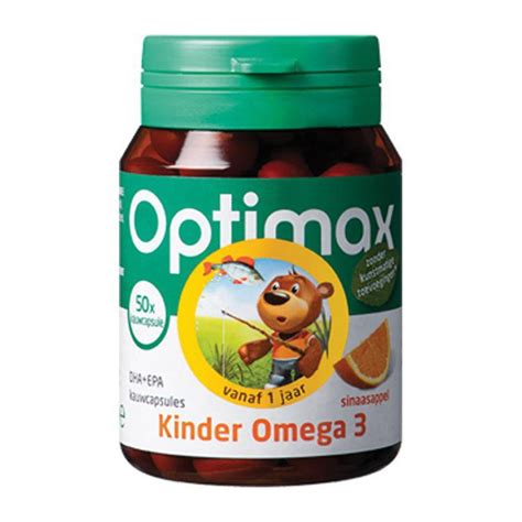 optimax kinder omega  sinaasappel kcap voordelig