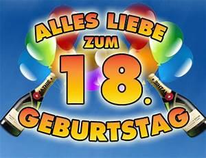 Geburtstagsbilder Zum 18 : 18 geburtstag bilder mit spr chen ~ A.2002-acura-tl-radio.info Haus und Dekorationen