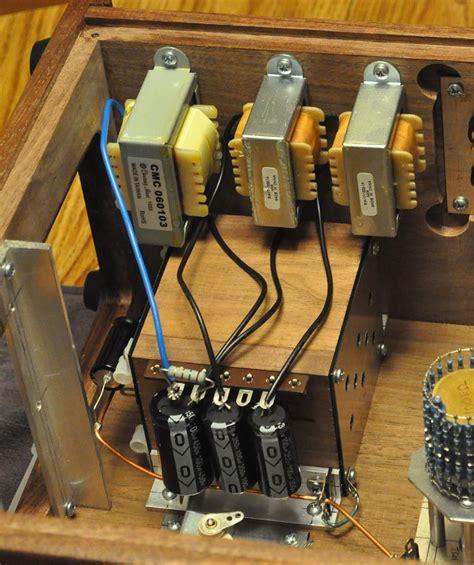 em single ended triode set vertical amplifier