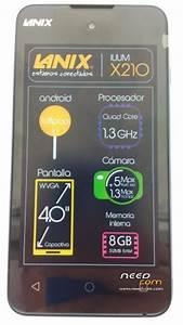Rom Rom Lanix X210 Telcel