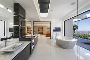930 best images about salle de bain on pinterest coins With carrelage adhesif salle de bain avec dalle led de plafond