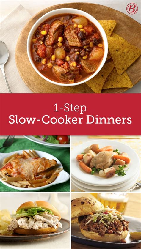 8 Onestep Slowcooker Dinners  Meals, The O'jays And