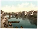 File:Fulda Bridge, Cassel (i.e., Kassel), Hesse-Nassau ...