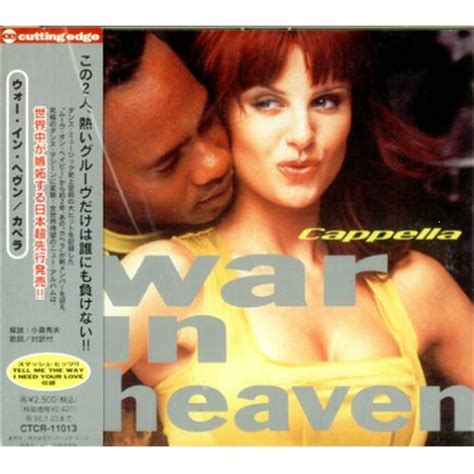 Cappella War In Heaven Japanese 2 Cd Album Set (double Cd