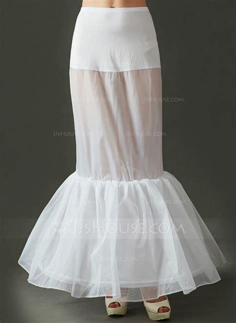 women tulle netting floor length petticoats
